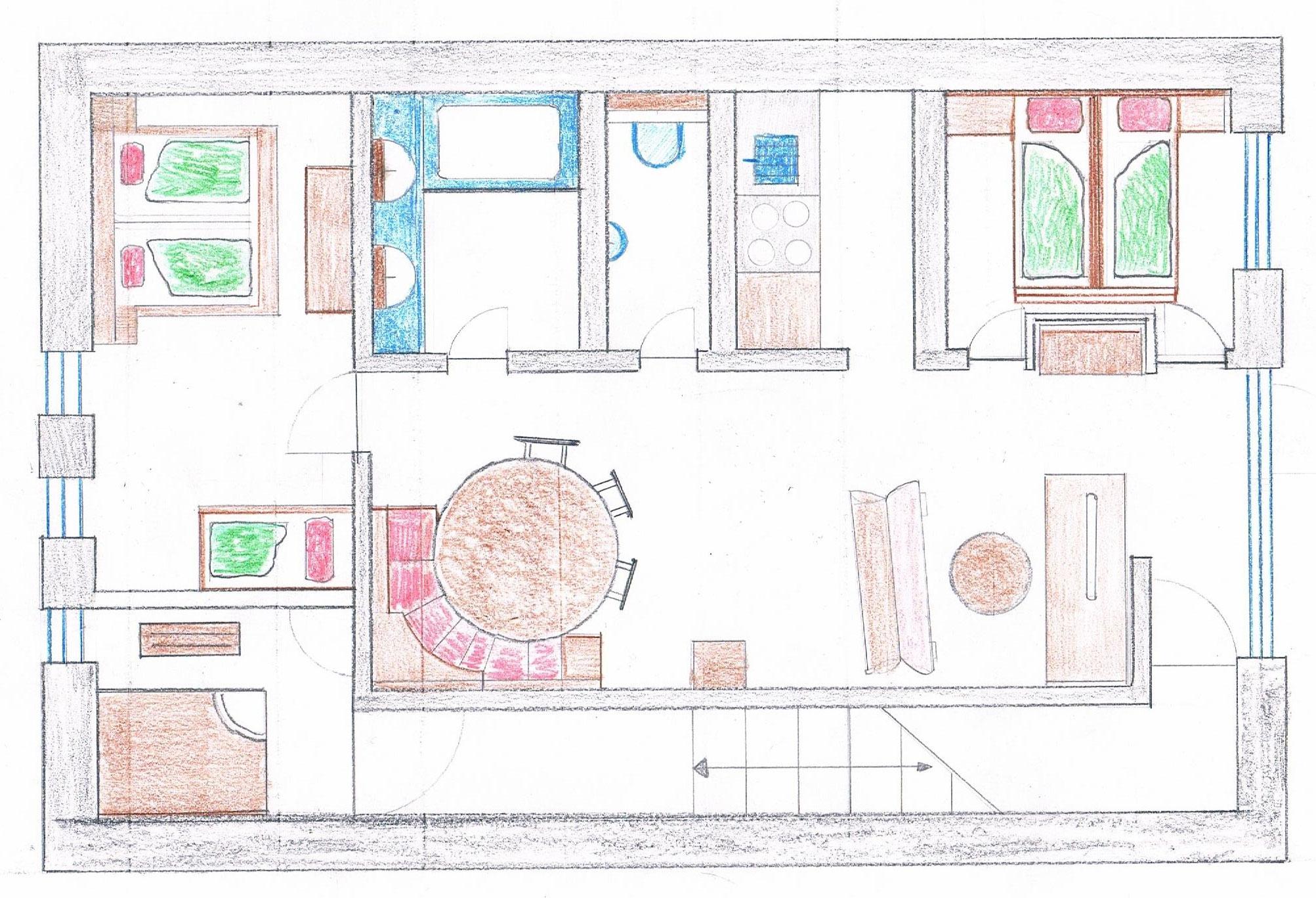 ferienwohnung f r 2 bis 7 personen im haus fabian in obergurgl familienurlaub in obergurgl. Black Bedroom Furniture Sets. Home Design Ideas